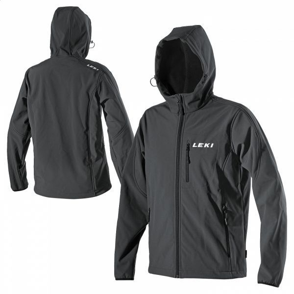 SOFTSHELL JACKE HOODED MEN